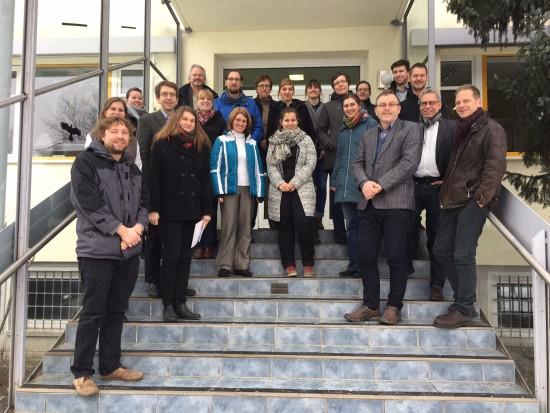 Gruppenbild der QT-3 Teilnehmer